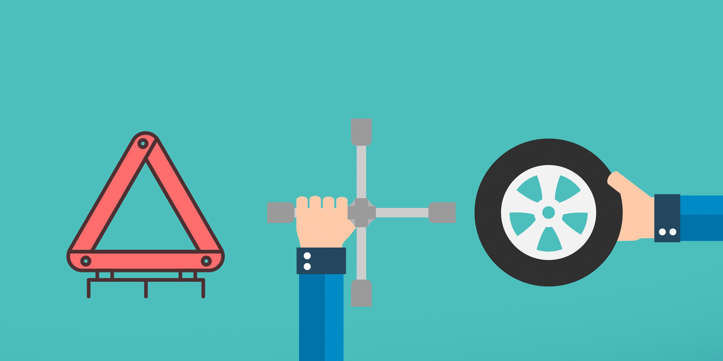 Сколько занимает замена колес
