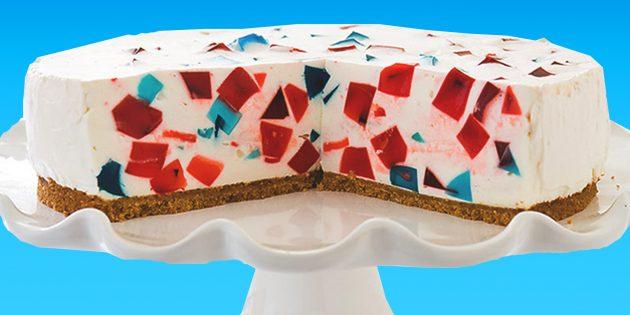 Как приготовить необычный и вкусный торт «Битое стекло»