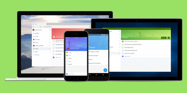 Microsoft представила сервис To-Do, который заменит Wunderlist