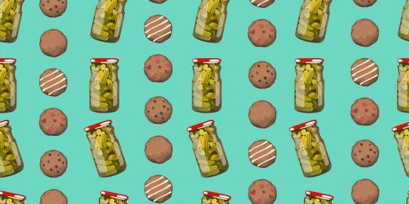 Короткий рецепт: как приготовить хрустящее печенье на рассоле