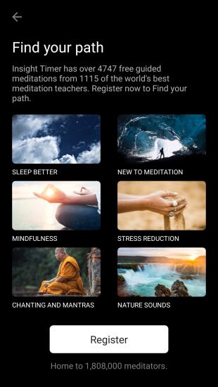 Insight Timer — приложение для духовных практик