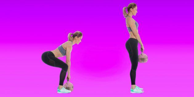 Тренировка с гирями: 20 упражнений, которые вы никогда не пробовали