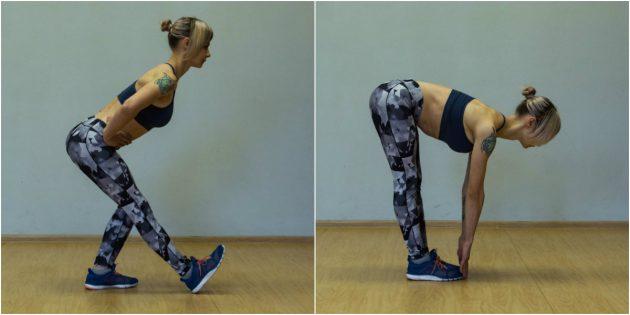 Упражнения для коленей: Растяжка бицепса бедра