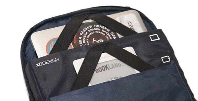 Рюкзак Bobby: карманы для электроники
