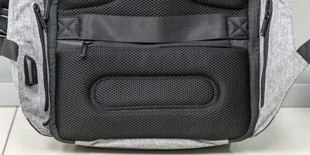 Рюкзак Bobby: карманы на спинке