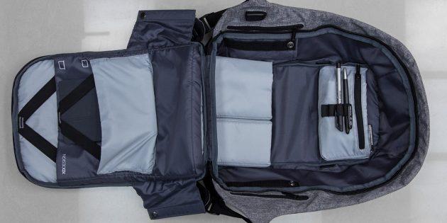Рюкзак Bobby: внутренние карманы