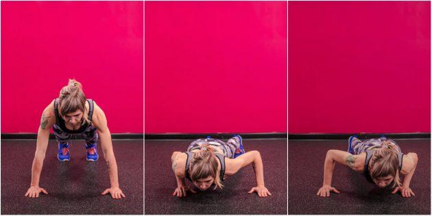 Упражнения на мышцы груди и мышцы бедер и живота