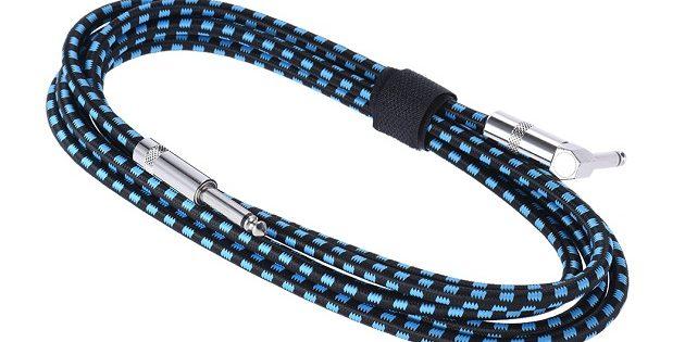 Инструментальный кабель с угловым штекером