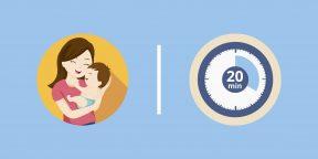 5 способов провести время с ребёнком, если у вас всего 20 свободных минут