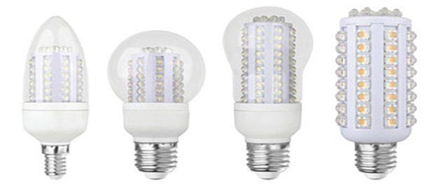Какие светодиодные лампы бывают