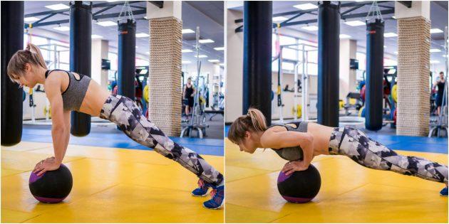 Упражнения с медоболом
