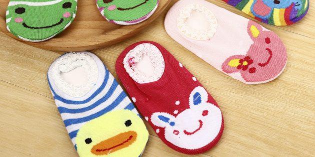 Очаровательные детские носки