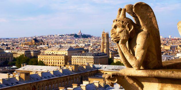 куда отправиться путешествовать: Париж