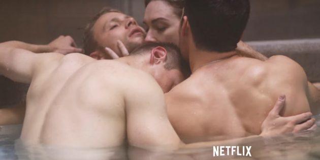 восьмое чувство: эротические сцены