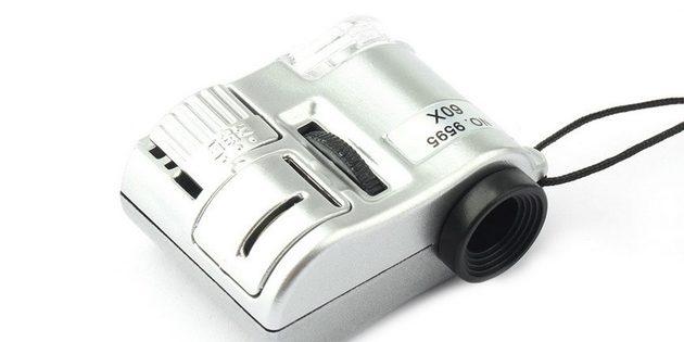 Миниатюрный микроскоп