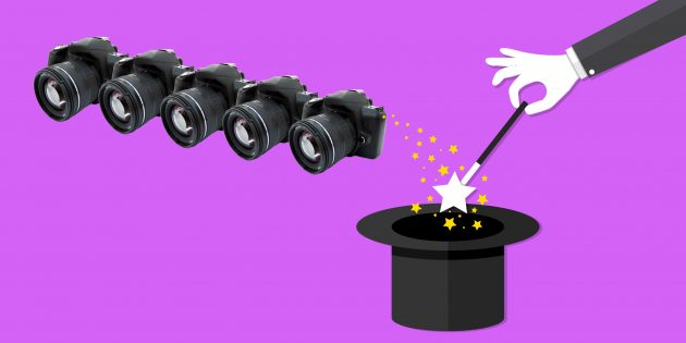 5 впечатляющих фотолайфхаков за 5 минут