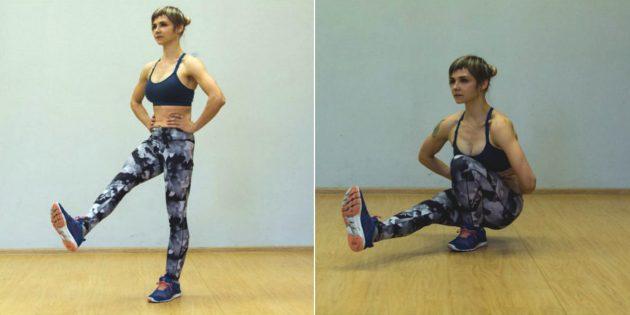 21 упражнение для тех, кто хочет идеальные бёдра