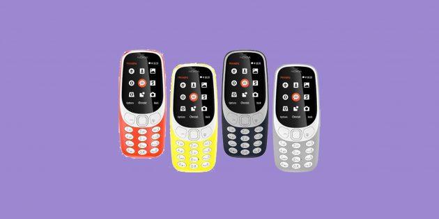 8 фактов, которые надо знать о новом Nokia 3310