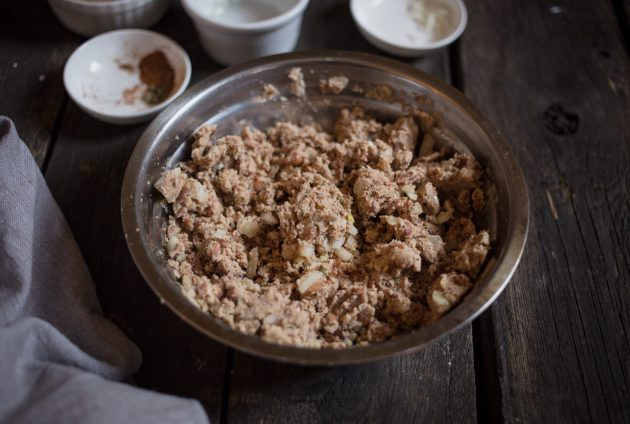 Рецепт бургера: фарш из фасоли