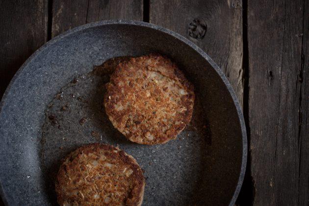 Рецепт бургера: фасолевые котлеты