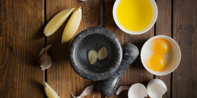 айоли: ингредиенты