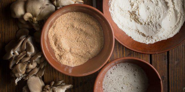 айоли: ингредиенты для грибов