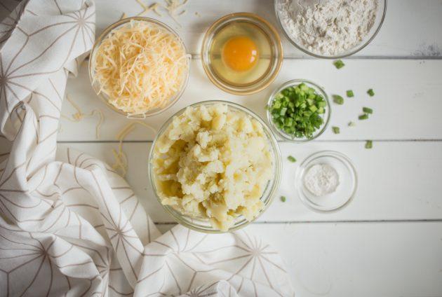 Картофельные оладьи: ингредиенты