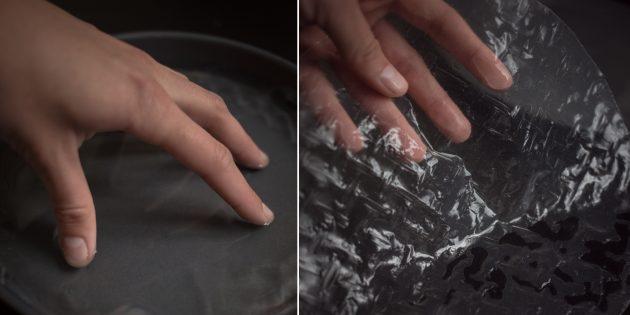 спринг-роллы: подготовка рисовой бумаги