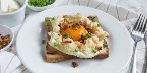 Идеи для завтрака: «облачная» яичница