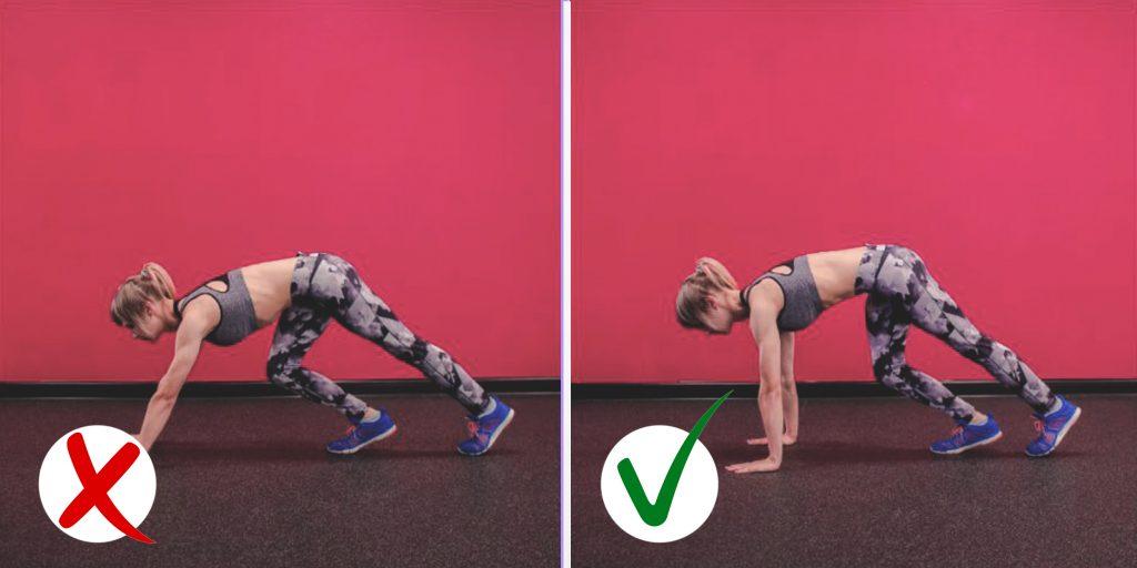 Ходьба на руках какие мышцы работают