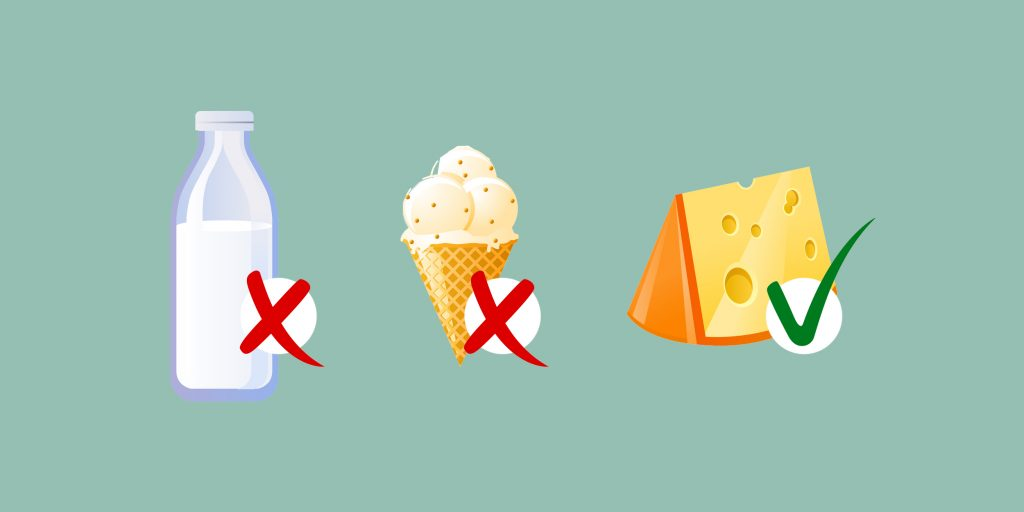 Прыщи от творога: почему появляются и можно ли есть?
