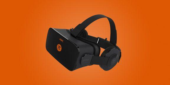 Обзор Pimax 4K — бюджетной VR-гарнитуры с разрешением 4К