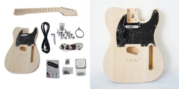 Набор для сборки гитары