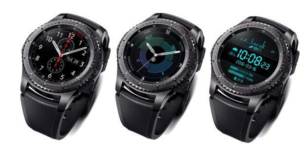 фитнес-трекеры: Samsung Gear S3 Frontier