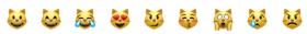 эмодзи котики