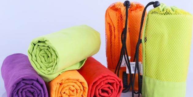 Быстросохнущее полотенце из микрофибры