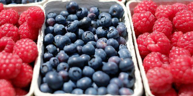 продукты для здоровья суставов: ягоды