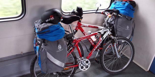 велопутешествие: велосипед