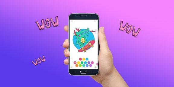 Лучшие приложения-раскраски для Android по версии Google