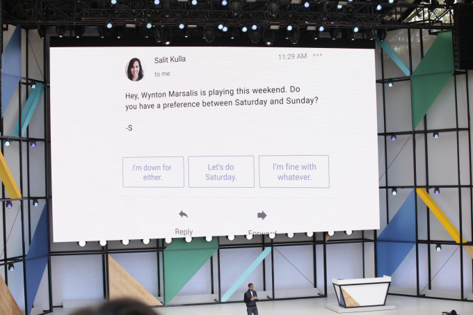 Google I/O 2017: Smart Reply