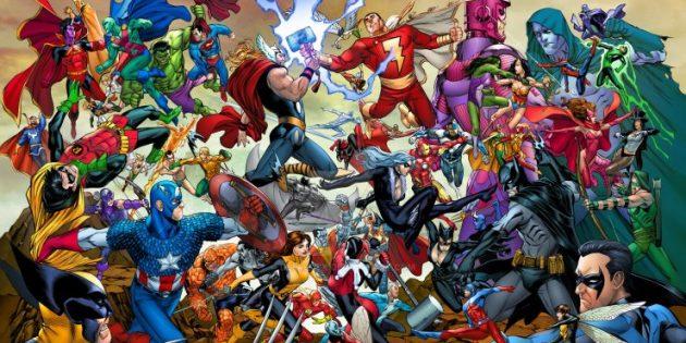 сериалы про супергероев: отличие Marvel от DC