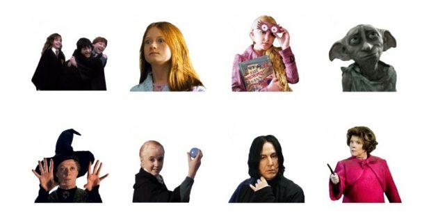 стикеры: Harry Potter