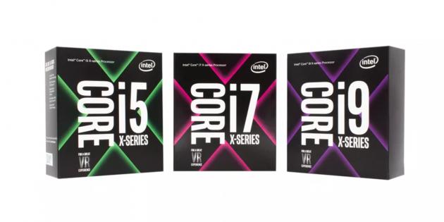 Intel анонсировала Core i9 и другие мощные процессоры серии Core X