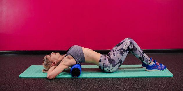 коррекция осанки: растяжка грудного отдела