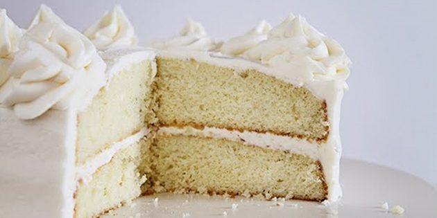 как приготовить пирог в одной посуде: ванильный пирог