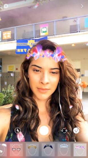 Instagram: селфи-фильтры