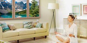 5 дизайнерских решений для комнат без окон