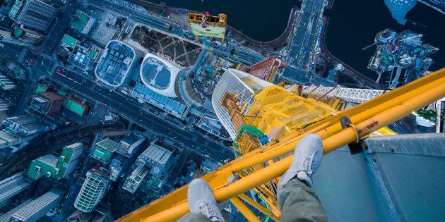 Рабочие места: «Если всегда бояться чего-либо, то не будет жизни» — интервью с руфером Виталием Раскаловым