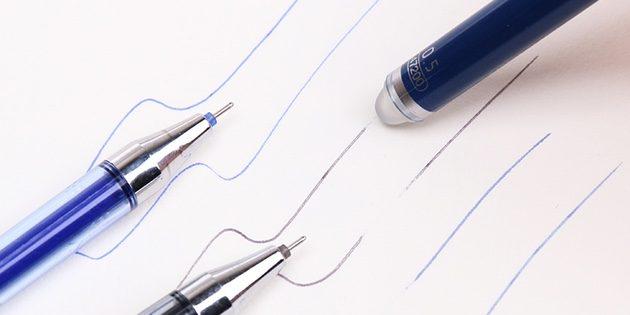 Ручка с ластиком