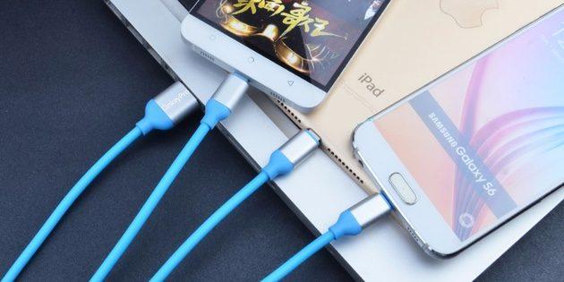 Универсальный зарядный кабель